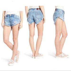 One by OneTeaspoon Bandit Denim Short Shorts